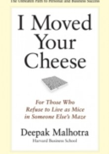 Обложка книги  - I Moved Your Cheese