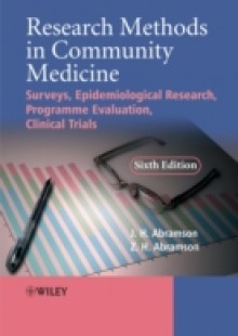 Обложка книги  - Research Methods in Community Medicine