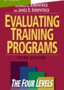 Обложка книги  - Evaluating Training Programs