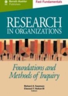 Обложка книги  - Research in Organizations c.21