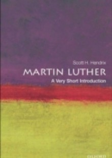 Обложка книги  - Martin Luther: A Very Short Introduction