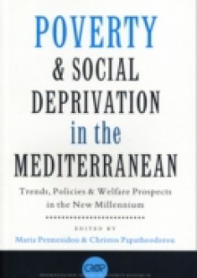Обложка книги  - Poverty and Social Deprivation in the Mediterranean