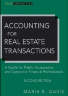 Обложка книги  - Accounting for Real Estate Transactions