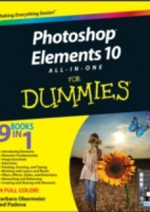 Обложка книги  - Photoshop Elements 10 All-in-One For Dummies