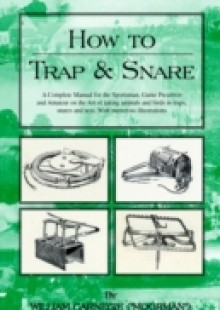 Обложка книги  - HOW TO TRAP AND SNARE