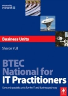 Обложка книги  - BTEC National for IT Practitioners: Business units