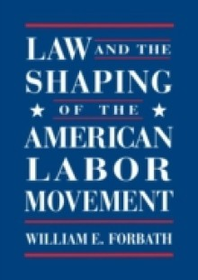 Обложка книги  - Law and the Shaping of the American Labor Movement