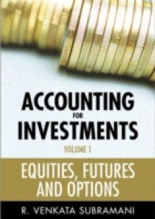 Обложка книги  - Accounting for Investments, Equities, Futures and Options