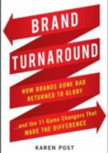 Обложка книги  - Brand Turnaround: How Brands Gone Bad Returned to Glory and the 7 Game Changers that Made the Difference