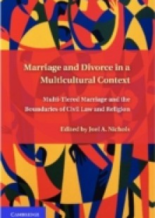 Обложка книги  - Marriage and Divorce in a Multi-Cultural Context
