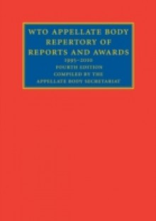 Обложка книги  - WTO Appellate Body Repertory of Reports and Awards