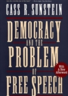 Обложка книги  - Democracy and the Problem of Free Speech