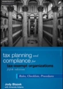 Обложка книги  - Tax Planning and Compliance for Tax-Exempt Organizations