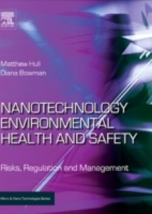 Обложка книги  - Nanotechnology Environmental Health and Safety