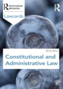 Обложка книги  - Constitutional and Administrative Lawcards 2012-2013
