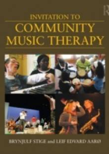 Обложка книги  - Invitation to Community Music Therapy