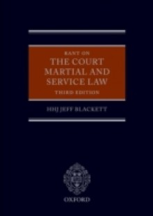 Обложка книги  - Rant on the Court Martial and Service Law