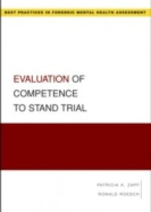 Обложка книги  - Evaluation of Competence to Stand Trial
