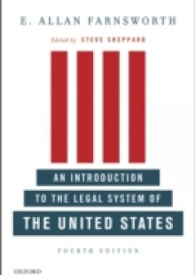 Обложка книги  - Introduction to the Legal System of the United States, Fourth Edition
