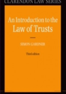 Обложка книги  - Introduction to the Law of Trusts