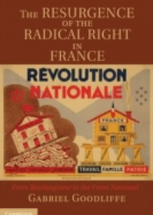 Обложка книги  - Resurgence of the Radical Right in France