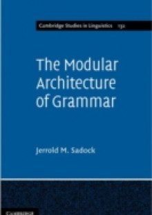 Обложка книги  - Modular Architecture of Grammar