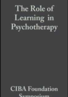 Обложка книги  - Role of Learning in Psychotherapy