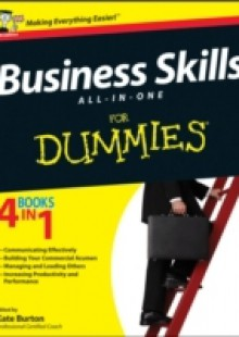 Обложка книги  - Business Skills All-in-One For Dummies