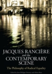 Обложка книги  - Jacques Ranciere and the Contemporary Scene