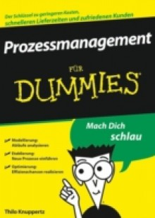 Обложка книги  - Prozessmanagement f r Dummies