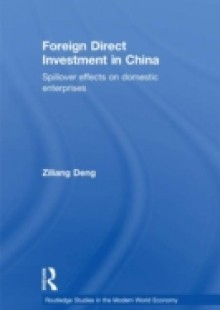 Обложка книги  - Foreign Direct Investment in China