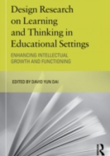 Обложка книги  - Design Research on Learning and Thinking in Educational Settings