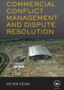 Обложка книги  - Commercial Conflict Management and Dispute Resolution