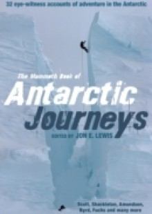 Обложка книги  - Mammoth Book of Antarctic Journeys