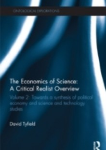 Обложка книги  - Economics of Science: A Critical Realist Overview
