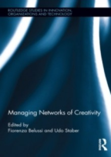 Обложка книги  - Managing Networks of Creativity