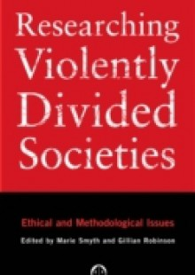 Обложка книги  - Researching Violently Divided Societies