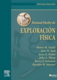 Обложка книги  - Manual Mosby de Exploracion fisica + Evolve