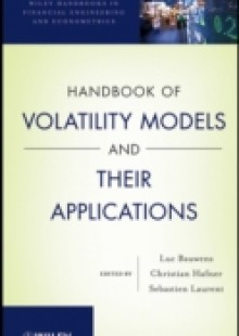 Обложка книги  - Handbook of Volatility Models and Their Applications