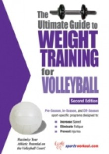 Обложка книги  - Ultimate Guide to Weight Training for Volleyball