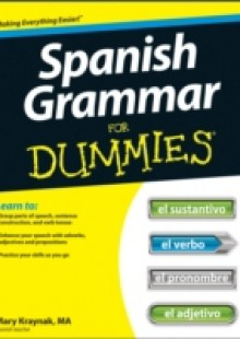 Обложка книги  - Spanish Grammar For Dummies