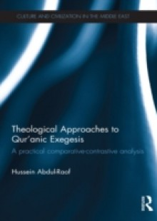 Обложка книги  - Theological Approaches to Qur'anic Exegesis