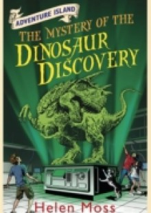 Обложка книги  - Adventure Island: The Mystery of the Dinosaur Discovery