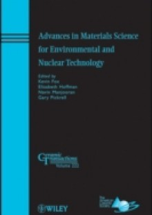 Обложка книги  - Advances in Materials Science for Environmental and Nuclear Technology