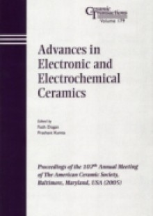 Обложка книги  - Advances in Electronic and Electrochemical Ceramics