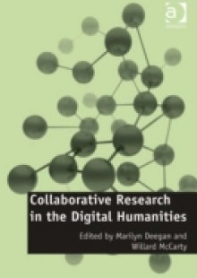 Обложка книги  - Collaborative Research in the Digital Humanities