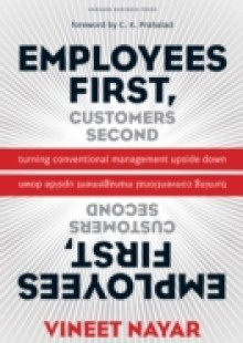 Обложка книги  - Employees First, Customers Second