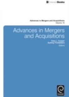 Обложка книги  - Advances in Mergers and Acquisitions