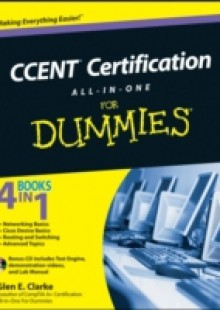 Обложка книги  - CCENT Certification All-In-One For Dummies
