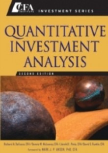 Обложка книги  - Quantitative Investment Analysis
